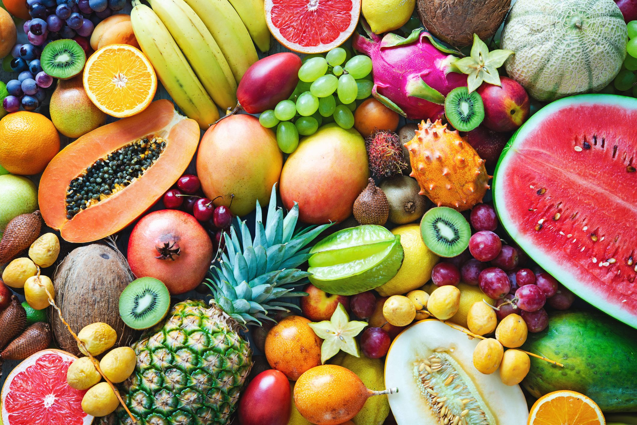 Top 20 Fruits and Vegetables Sold in the U.S.